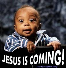 Jesus is coming back